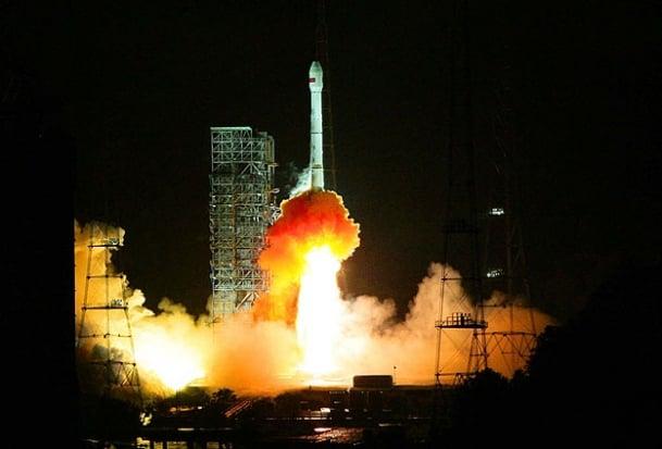 Türkiye'nin Yüksek Çözünürlüklü İlk Milli Keşif Uydusu Göktürk 2, Çin'deki Jiuquan Fırlatma Üssü'nden Uzaya Gönderildi