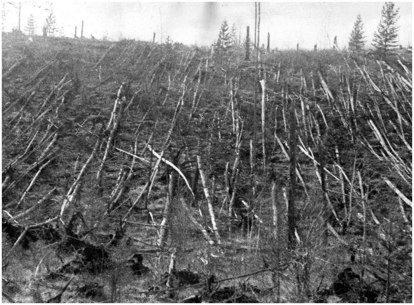 Tunguska Patlamasının Suçlusu Bir Kuyruklu Yıldız mı ?