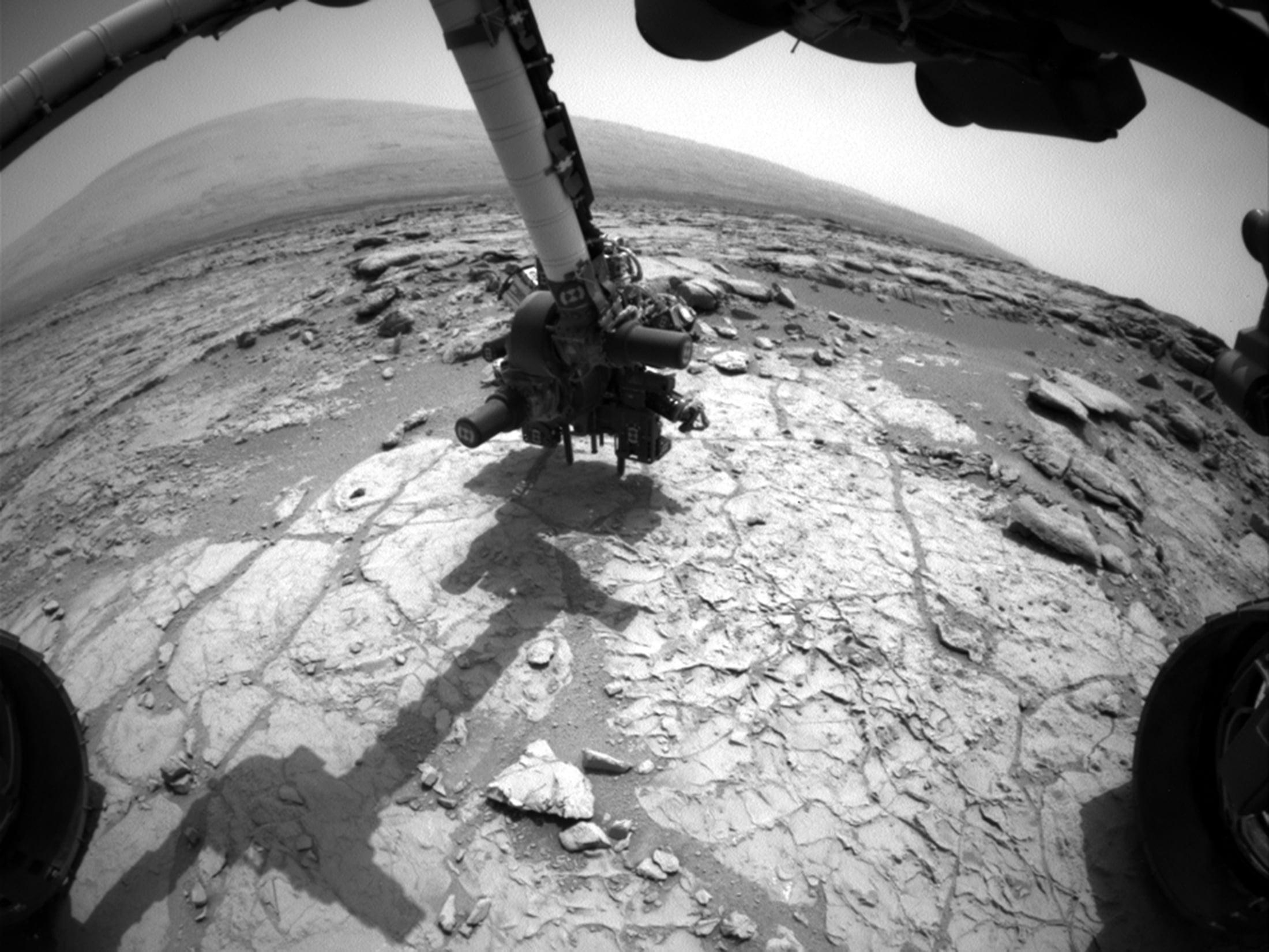 Curiosity sondaja başlamadan hemen önce (Büyütmek için tıklayın).