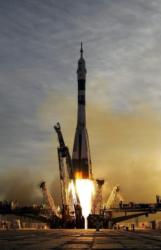 Rusya Uzaya Roket Göndermede Lider