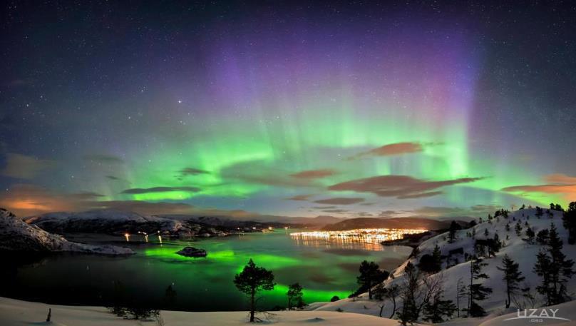 Kuzey Işıkları, Aurora - Norveç - 12 Nisan 2013