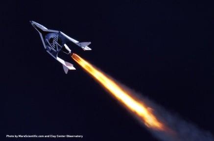 Turistik Uzay Yolculuğu İçin Geri Sayım Başladı