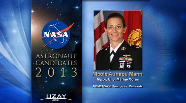 Nicole Aunapu Mann, 35 Yaşında - Binbaşı, ABD Deniz Kuvvetleri