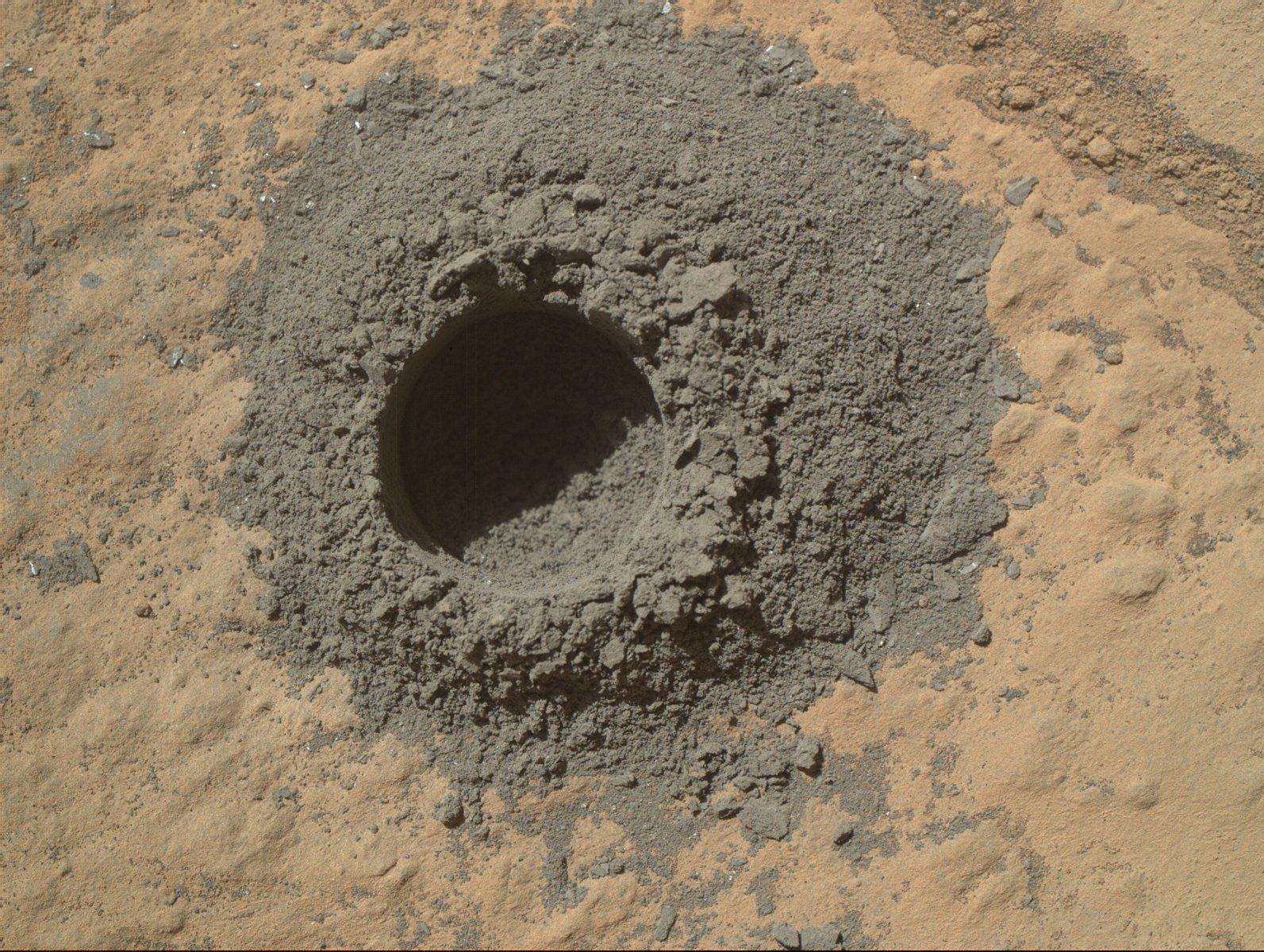 Mars'ta 1 Yıl Aradan Sonra Tekrar Kazı Çalışması