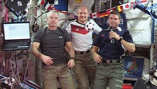 Dünya Kupası Heyecanı Uzayda