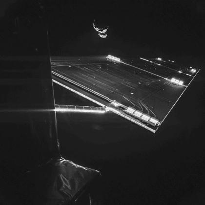 Yayın hakkı: ESA/Rosetta/Philae/CIVA