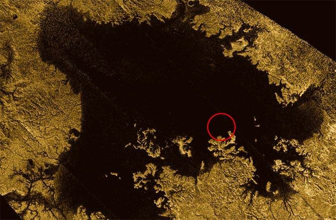 Satürn'ün Uydusu Titan'ın Adası Yeniden Belirdi