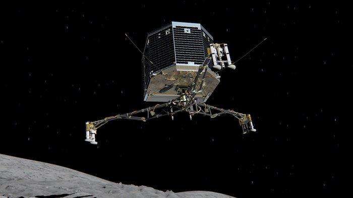 """""""Philae"""" Rosetta'dan Ayrıldı, Kuyruklu Yıldıza İnmek Üzere"""