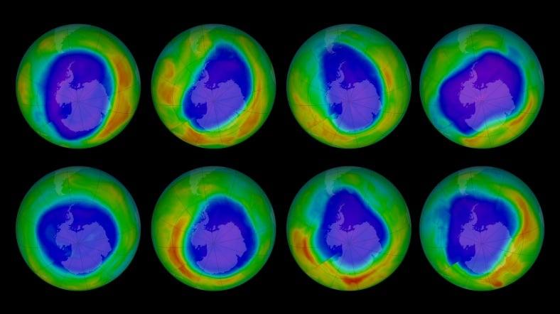 Ozon Tabakasındaki Delik Genişledi