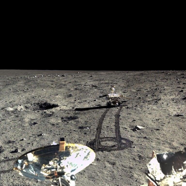 Çin Ulusal Uzay Dairesi'in Ay Fotoğrafları