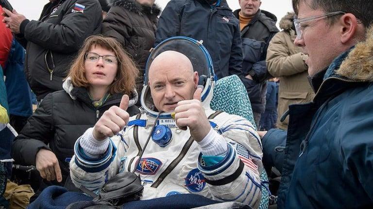 Astronot Scott Kelly Emekli Oluyor