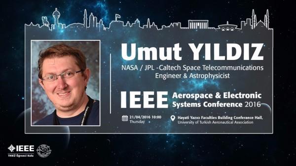 Dr. Umut Yıldız E-Konferans ile AECON 16'da!