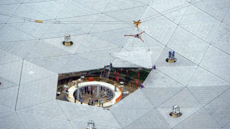 Çin, Dev Radyo Teleskobunu Eylül Ayında Açılıyor