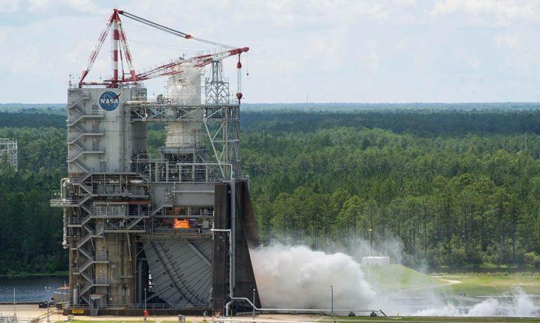 NASA'dan Mars Projesi İçin Başarılı Bir Motor Testi