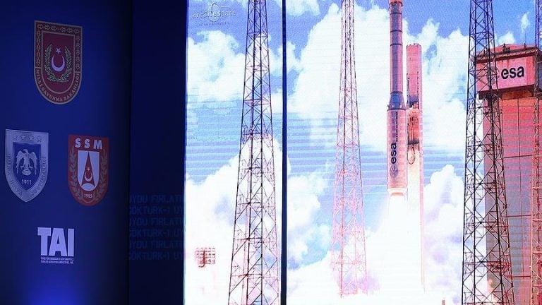 Milli Kripto 'Göktürk-1' ile Uzayda
