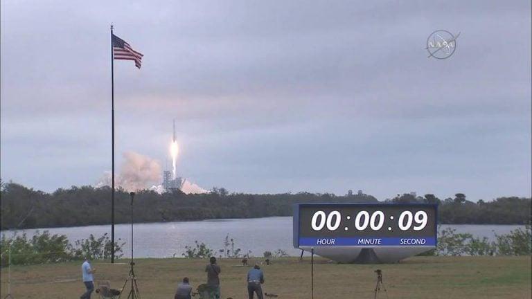 Falcon 9 Roketi Fırlatıldı