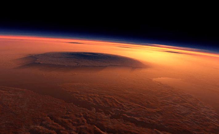 Mars'ta Volkanik Faaliyet Kanıtları