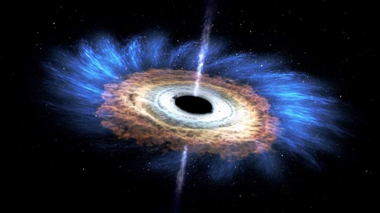 Kara Delik Tarafından Yutulan Yıldızın 'Ölüm Girdabı'