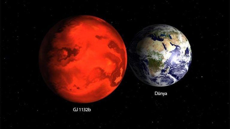 Dünya'ya Benzeyen Bir Gezegenin Çevresinde Atmosfer Bulundu