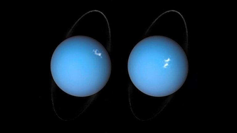 Hubble Uranüs'teki Auroraları Görüntüledi
