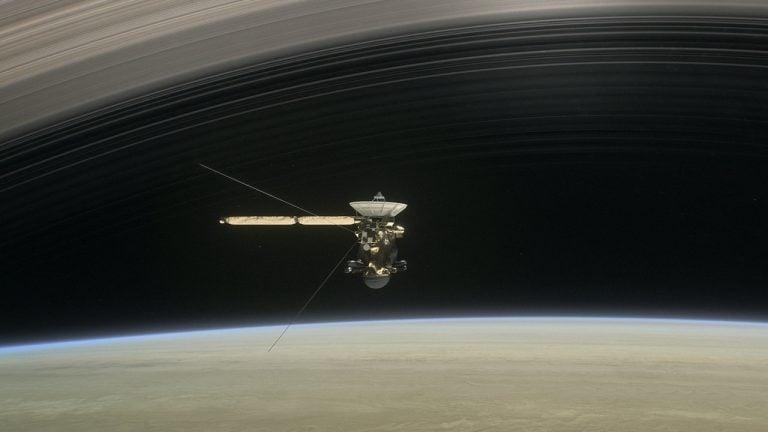 Cassini, Satürn'ün Sesini Yolladı