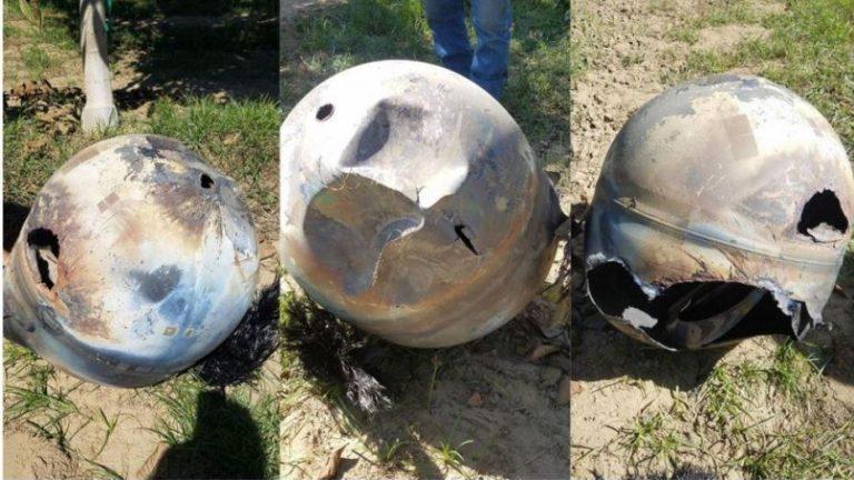 Uydu Parçası Kaliforniya Bir Bahçeye Düştü