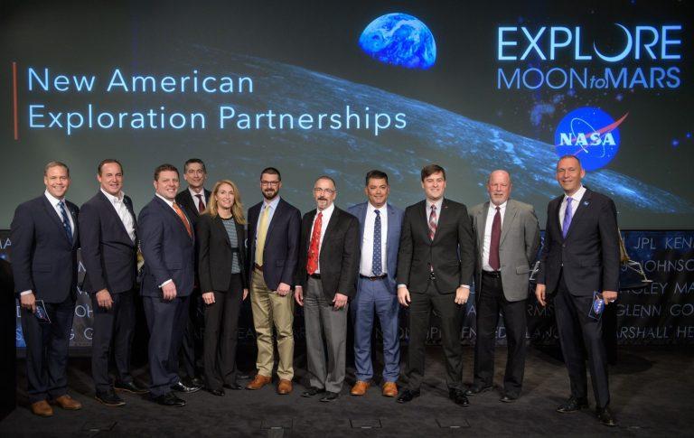 9 ABD Şirketi Ay'a Gidiyor! İşte NASA'nın Yeni Ortakları