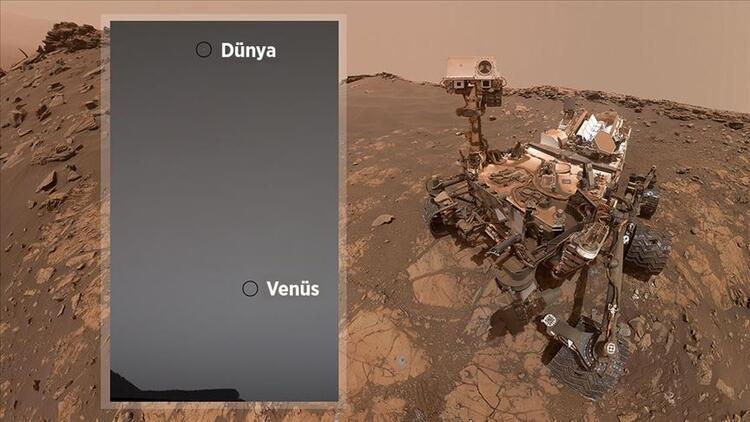 Dünya ve Venüs Aynı Fotoğraf Karesine Girdi