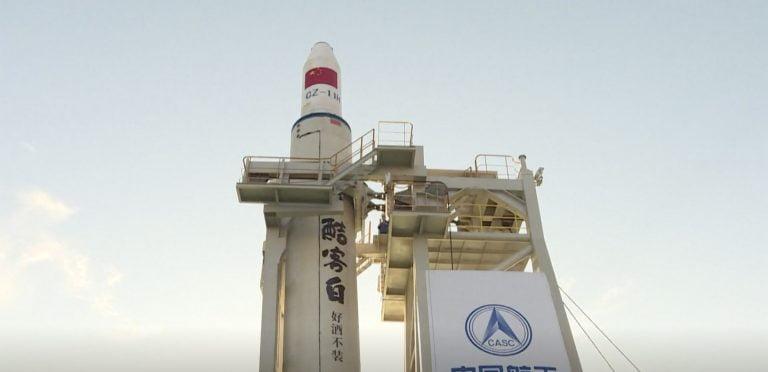 Çin, Okyanus Platformundan Uzaya 9 Uydu Fırlattı