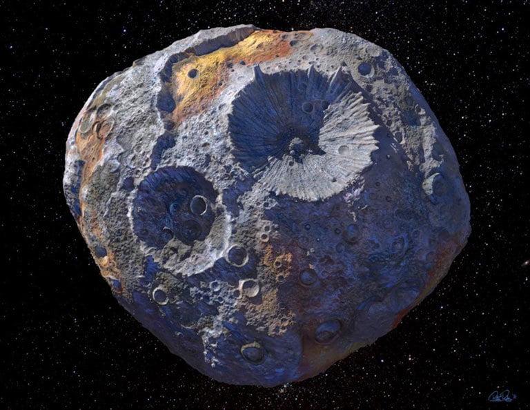 10 bin katrilyon dolar değerindeki asteroit yakından incelenecek