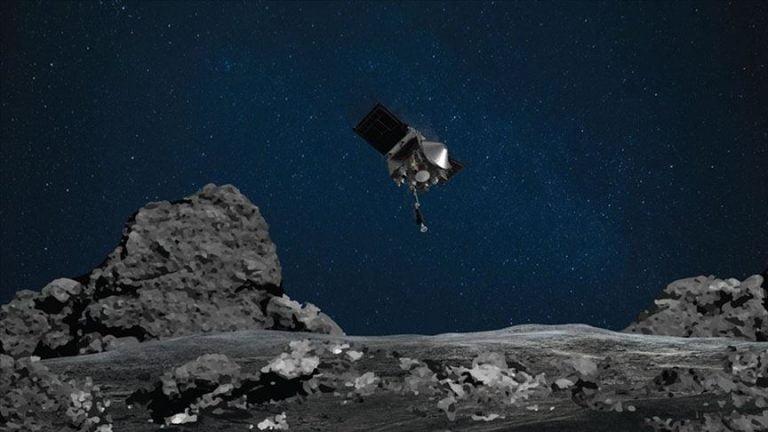 NASA'nın uzay aracı asteroide başarılı bir şekilde temas etti