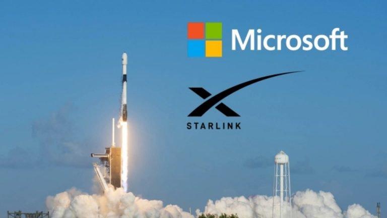 SpaceX ve Microsoft'tan Starlink için işbirliği