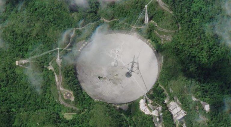 Astronominin Simgesi Arecibo Radyo Teleskobu'nun Kötü Sonu