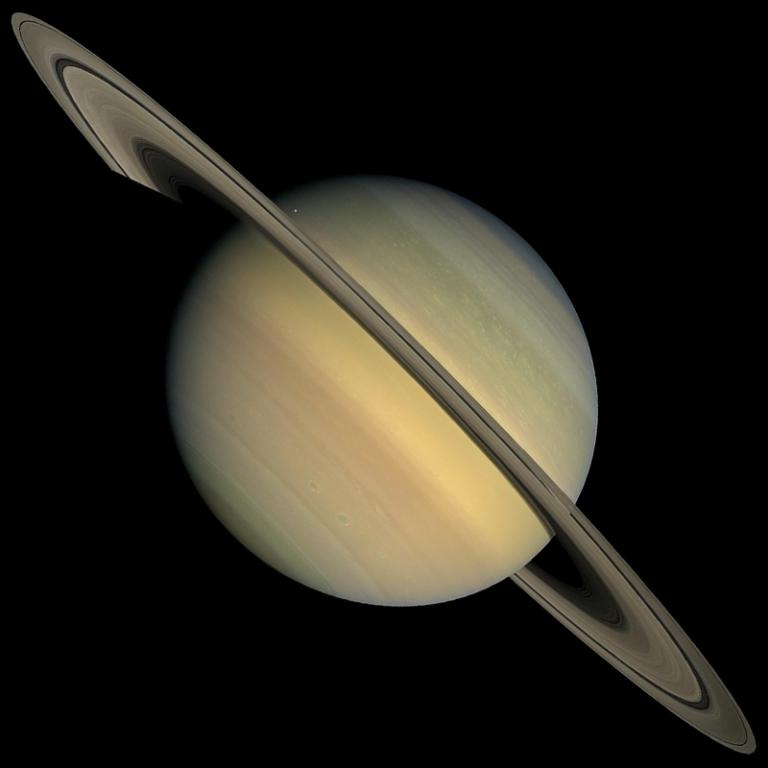 Jüpiter ile Kavuşum Yaşayan Satürn Hakkında Gerçekler