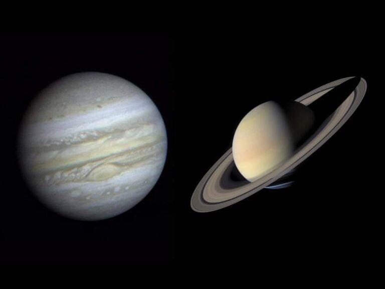Jüpiter ve Satürn'ün Muhteşem Birleşimini Kaçırmayın