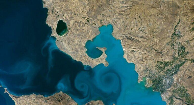 NASA fotoğraf yarışmasını Van Gölü kazandı!