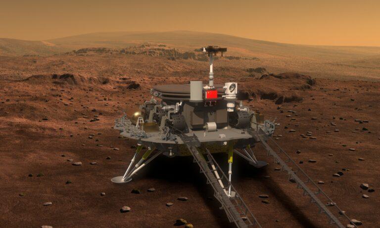 Çin Uzay Aracı Mars'a İniş Yaptı