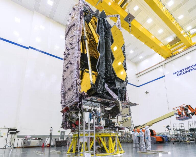 NASA'nın James Webb  Uzay Teleskobu Aralık Ayında Fırlatılacak